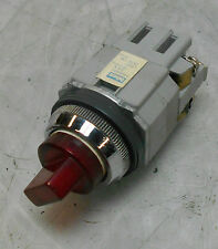 Idec Illuminated Selector Switch, Red, USED, WARRANTY