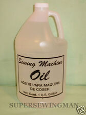 1 GALLON CLEAR WHITE INDUSTRIAL & HOME SEWING MACHINE OIL