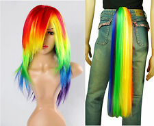 Little Pony Rainbow Dash Cosplay costume wig tail set - Friendship Magic