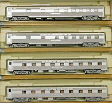 N Scale - KATO 106-6003 SANTA FE Super Chief 4 Car Set of 4-4-2 & 10-6 Sleepers