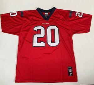 NWT Reebok Steve Slaton #20 NFL Houston Texans Youth Replica Jersey