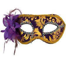 WOMENS Masquerade MASKS | VENETIAN Floral Face Masks | Fancy Dress PROM BALL