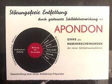 1951 Münden Germany Medical Postcard Cover to Bad Gandersheim thyroid Effect