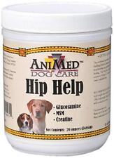 AniMed Dog Care Hip Help 120 Day Supply With Glucosamine, MSM & Creatine.