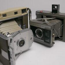 Vtg Polaroid Land Camera Bundle (Polaroid Tabletop Ball Head Tripod, 2 cameras)
