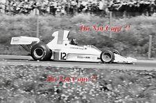 Graham Hill Embassy Racing Shadow DN1 Swedish Grand Prix 1973 Photograph 1