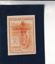 0034  Spain  MNH 1938 Edifil 798 imperferated see scan