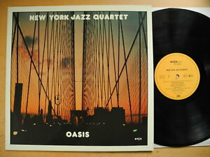 NEW YORK JAZZ QUARTET Oasis LP 1981 Germany Near Mint
