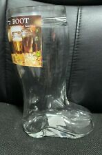 Das Boot 1 Liter Glass Boot New with Tags