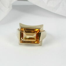 Ring in 585 Gold mit Citrin