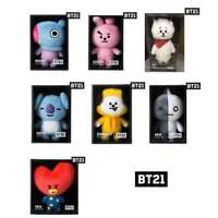 BT21 Official Authentic Goods Standing Plush Doll Medium BTS KPOP