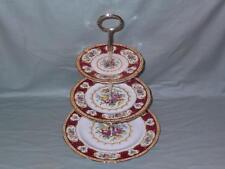 Royal Albert Lady Hamilton 3-Tier Hostess Cake Plate Stand (V1)