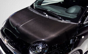 12-15 Fiat 500 OEM DriTech Carbon Fiber Body Kit- Hood!!! 113135