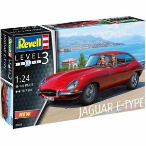 Revell 1/24 Jaguar E-Type Coupe Kit (New)