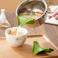 Wasserabweiser Kochen Silikon Gießen Suppe Trichter Tools Küche Tragbar N0V4
