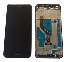 Huawei P10 Lite Display LCD Touchscreen Glas Displayeinheit Rahmen Schwarz