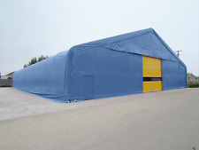 Steel Framed Storage Building Industrial Portable Temporary Commercial Warehouse