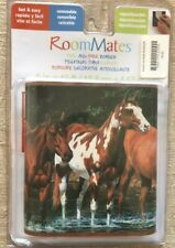 "WILD HORSES 15'x5"" WALL BORDER Country Western Ranch Horse Room Wallpaper Decor"