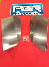 HONDA TRX400EX - TRX400X RADIATOR AIR SCOOPS 1993-2004 /TRX400EX-400X alum wow