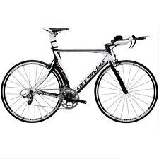 Cannondale Slice 4 Black/ White Tri Bike 56 cm