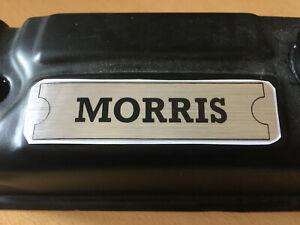 Morris Rocker Box Cover Sticker - For Mini Minor ADO16 Landcrab Clubman Oxford
