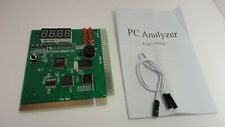 PC Computer BIOS Motherboard Tester Analyzer Mainboard PCI ISA Diagnostic Card