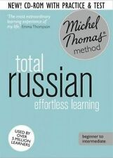 Total Russian Foundation Course: Learn Russian with the Michel Thomas Method by Natasha Bershadski (CD-Audio, 2014)