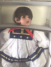 "Precious Heirloom Dolls Fayzah Spanos Collection ""All American Jolie"" NIB"