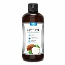 Anjou Premium MCT Oil 16 oz C8 C10 from Non-GMO Coconuts Keto Paleo Vegan Diets