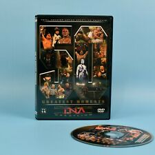 TNA Impact Wrestling - 50 Greatest Moments DVD - Kurt Angle - Sting WWF WWE WCW