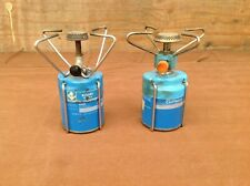 2 Camping Gaz Made in Brazil Single Burner Camping Backpacking Stoves