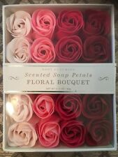 New Scented Soap Petals Moroccan Rose Floral Bouquet