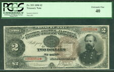 $2.00 Treasury Note, 1890, Fr. #353, PCGS Grade 40XF