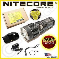 GENUINE Nitecore TM15 Cree XM-L LED Compact Search Flashlight - 2650 Lumens