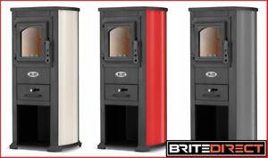 Blist STOVE 3 Colours Men cave shed log burner Wood burner Multifuel stove cast