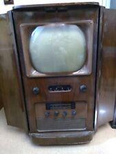 More details for vintage ambassdor television plus radio 1950's tv - untested