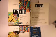 GIOCO COMMODORE AMIGA a-Train (A500/A600/A1000/A2000/A3000/A4000 1 GB di RAM da Ocean