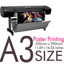 10x A3 Full Colour Poster Print / Printing Service