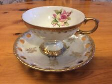 Japan Luster Tea Cup And Seaucer