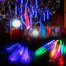 Waterproof Meteor Shower LED String Lights Xmas Tree Party Outdoor Garden Decor