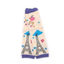 Jambières / Babylegs bébé : Tour Eiffel violette