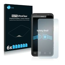 6x Savvies Screen Protector for HTC Evo 3D X515 Ultra Clear