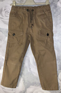 Boys Age 3-4 Years - Cargo Trousers