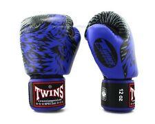Twins Special Fancy Boxing Gloves FBGV-50 Blue/Black/Grey 12oz