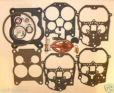 1986 87 88 89 90 Rochester Quadrajet Carburetor Kit E4ME HD Pump Blended Fuel