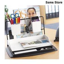 Desk Tidy Work Station Organiser Stationery Office Storage Letter Tray Rack NEW