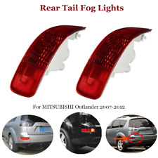 2×Car Rear Tail Fog Lights Side Marker Reflector Red Shell Fit For Peugeot 4007