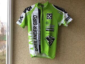 Dreilander Giro  Cycling Jersey 2 Shirt  Tiroler Oberland Camiseta light green