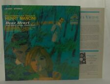 DEAR HEART & OTHER SONGS ABOUT LOVE -Mancini~RCA LP Stereo 1965 LSP-2990 VG+/EX