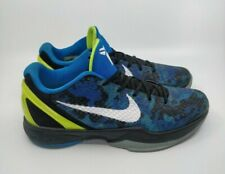 Nike Zoom Kobe 6 VI 2011 Blue Camo Photo Blue Volt Men's Size 9.5 429659-401